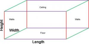 Room Volume Calculator